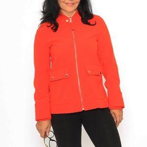 Zip up jacket dressy